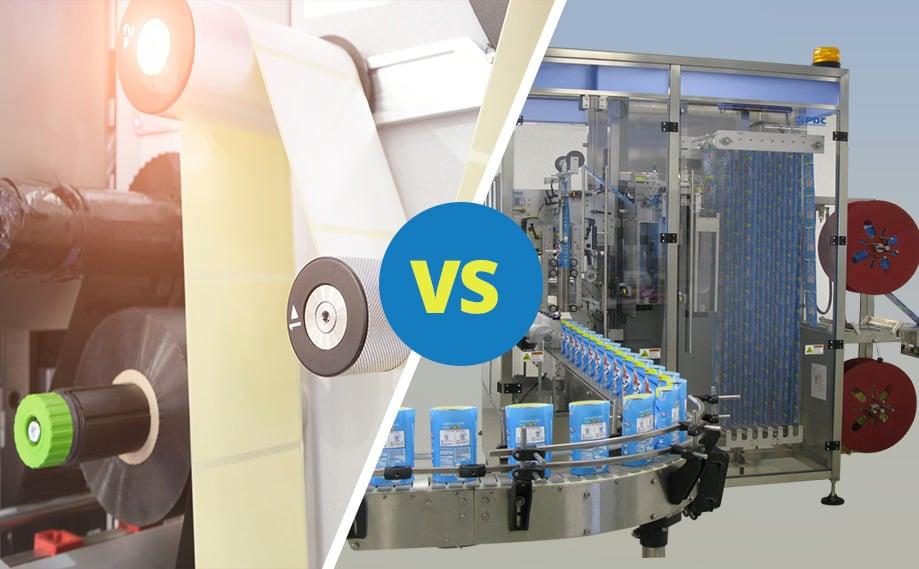 Shrink Sleeve Labeling Versus Pressure Sensitive Labels